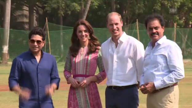 Video «Kate und William in Indien (unkomm.)» abspielen