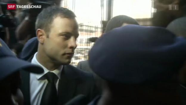 Video «Pistorius beging «fahrlässige Tötung»» abspielen