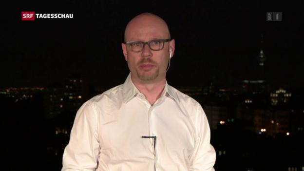 Video «Pascal Weber zum Wahlsieg von Hassan Rohani» abspielen
