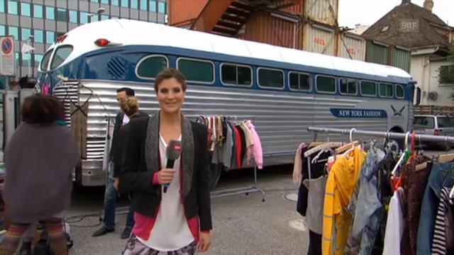 Annina Frey shoppt sich durch Zürich-West