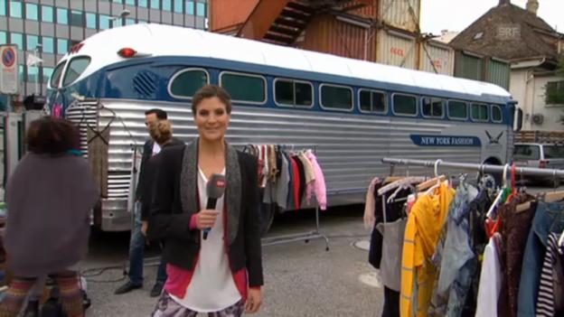 Video «Annina Frey shoppt sich durch Zürich-West» abspielen