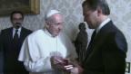 Video «Papst Franziskus empfängt Leonardo DiCaprio» abspielen