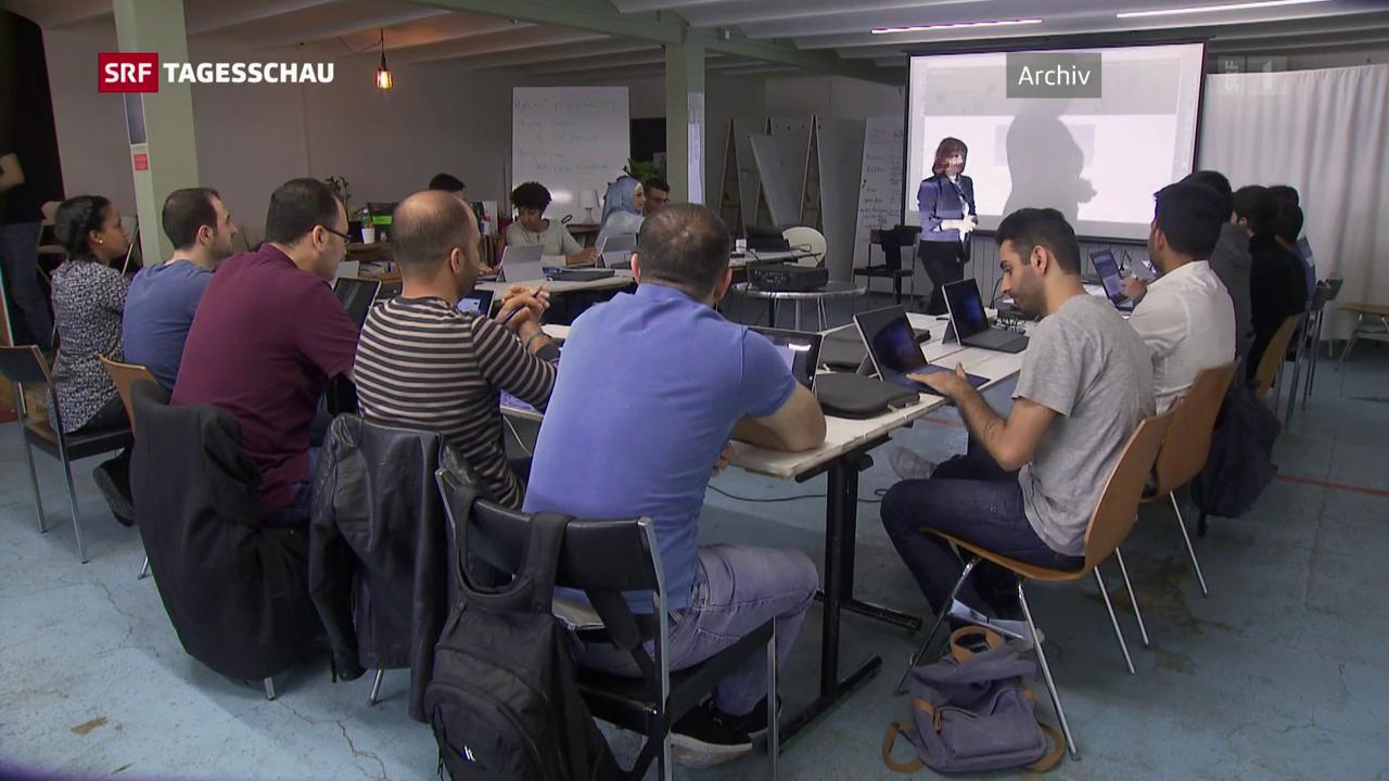 Viele Flüchtlinge in der Sozialhilfe