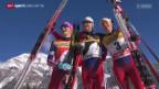 Video «Langlauf: Tour de Ski, 5 km Verfolgung Frauen» abspielen
