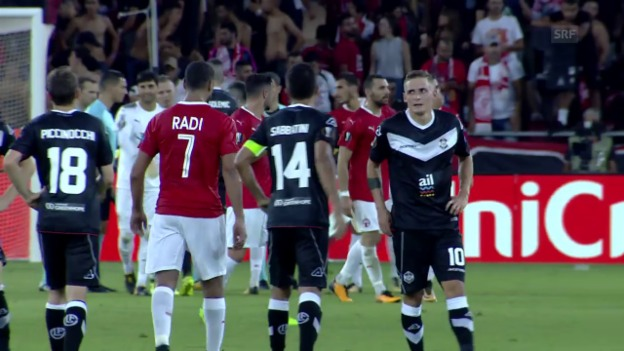Video «Lugano verliert zum Auftakt in Israel» abspielen