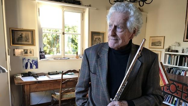 90 Geburtstag Peter Lukas Graf Ein Leben Mit Der Flote News Srf
