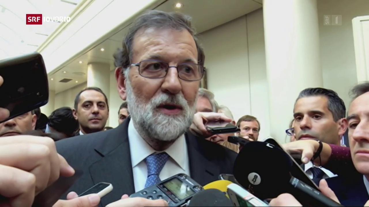 Spanien beschliesst Aktivierung von Verfassungsartikel 155