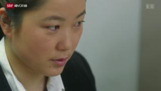 Video «Kaum Frauen in Chinas Politik» abspielen