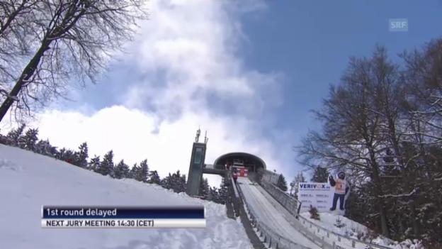 Video «Weltcup-Springen in Willingen abgesagt» abspielen