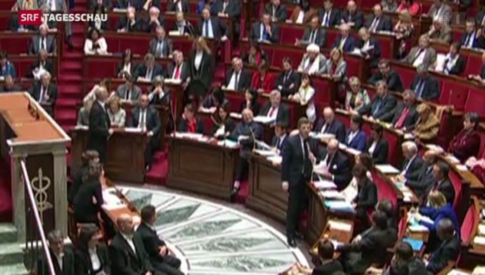Frankreich spricht bei Fusionen mit