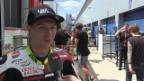 Video «Dominique Aegerter über sein starkes Qualifying in Jerez» abspielen