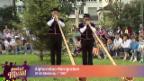 Video «Alphornduo Horngraben» abspielen