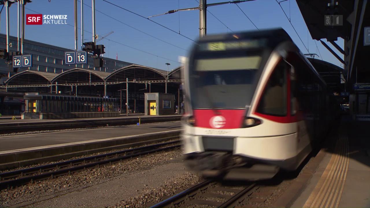Luzerner Ärger über den neuen Fahrplan