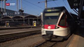 Video «Luzerner Ärger über den neuen Fahrplan » abspielen