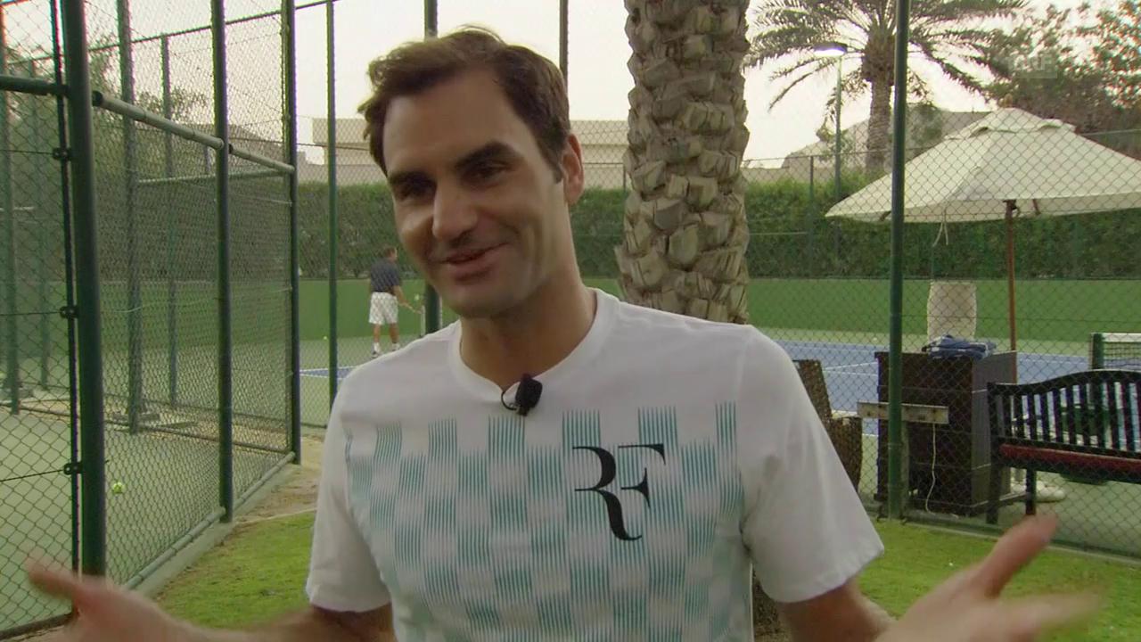 Roger Federer blickt auf die neue Saison voraus