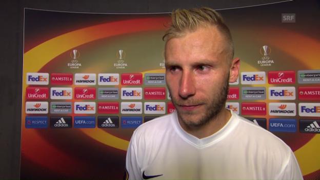 Video «Cavusevic: «Kein einfaches Spiel für mich»» abspielen