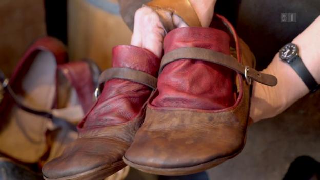 Video «Die Schuhe der Dietschis: Original 1517» abspielen