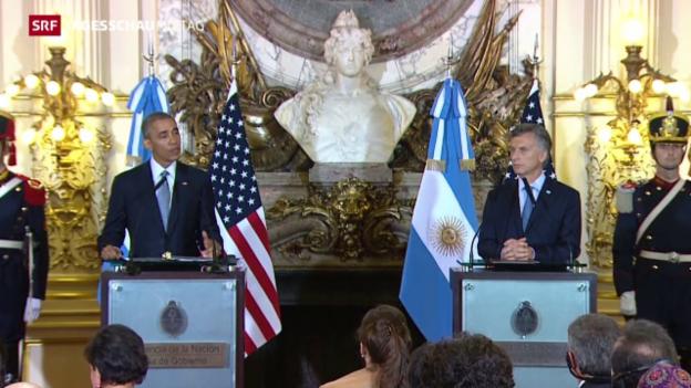 Video «Obama in Argentinien» abspielen
