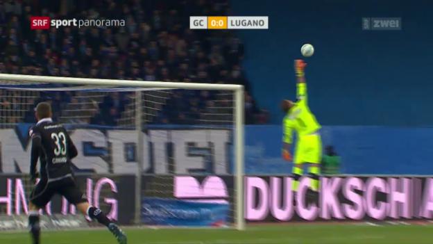 Video «Nullnummer zwischen GC und Lugano» abspielen