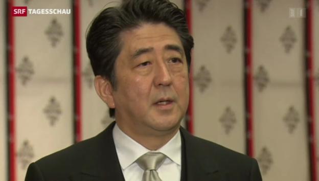 Video «Japan auf Provokationskurs» abspielen