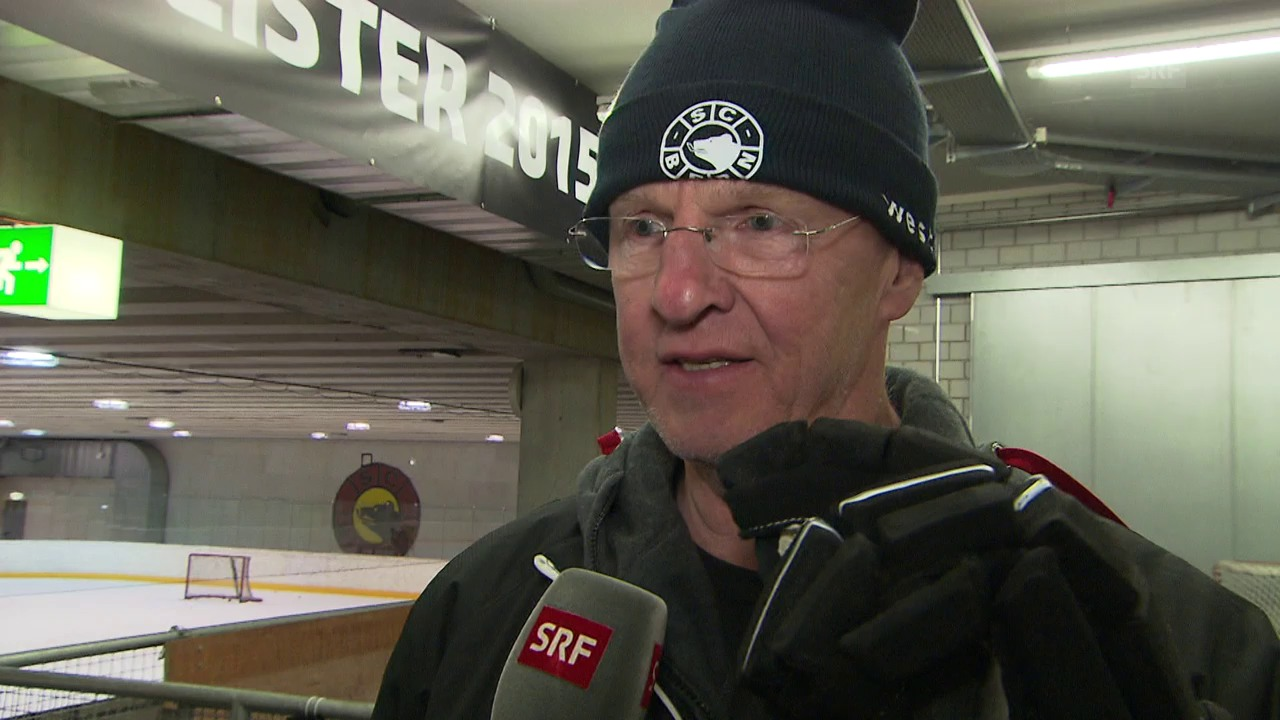Zug-Coach Kreis und SCB-Coach Jalonen vor dem Playoff-Final