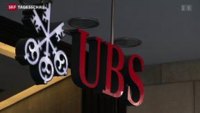 Video «UBS plant Holdingstruktur» abspielen