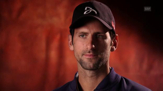 Video «Novak Djokovic über den Wechsel im Trainerstaff und das Turnier in Madrid» abspielen