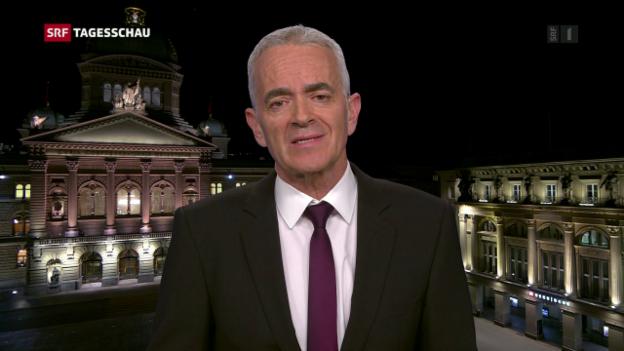 Video «Reimann: «Nun ist die Linke ist gefordert, die Reihen zu schliessen»» abspielen