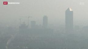Video «Smog halbiert Pariser Verkehr» abspielen