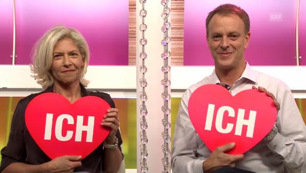 Video «Ich oder Du: Marie Louise Werth und Ursin Defuns» abspielen