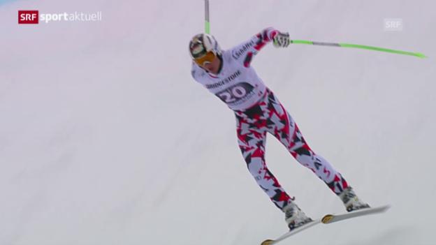 Video «Ski: Abfahrt Männer in Garmisch» abspielen