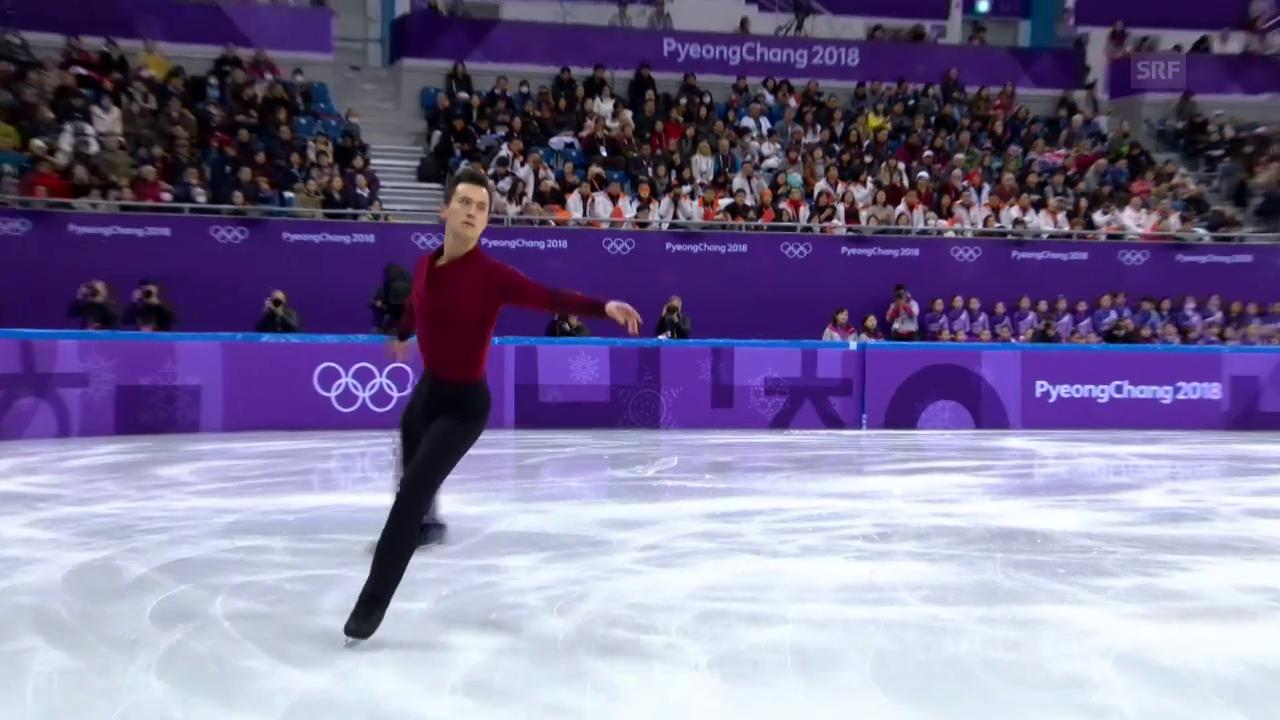 Eiskunstläufer Chan führt Kanada zu Teamgold