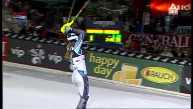 Slalom Zagreb: 2. Lauf Shiffrin