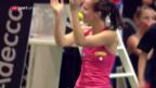 Video «Golubic schafft die Sensation gegen Pliskova» abspielen
