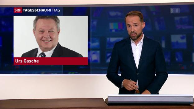 Video «Urs Gasche tritt zurück» abspielen