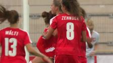 Link öffnet eine Lightbox. Video Starke Schweizerinnen schlagen Polen zu knapp abspielen