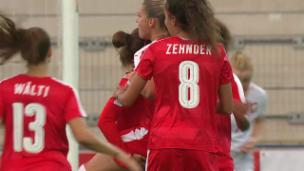 Video «Starke Schweizerinnen schlagen Polen zu knapp» abspielen