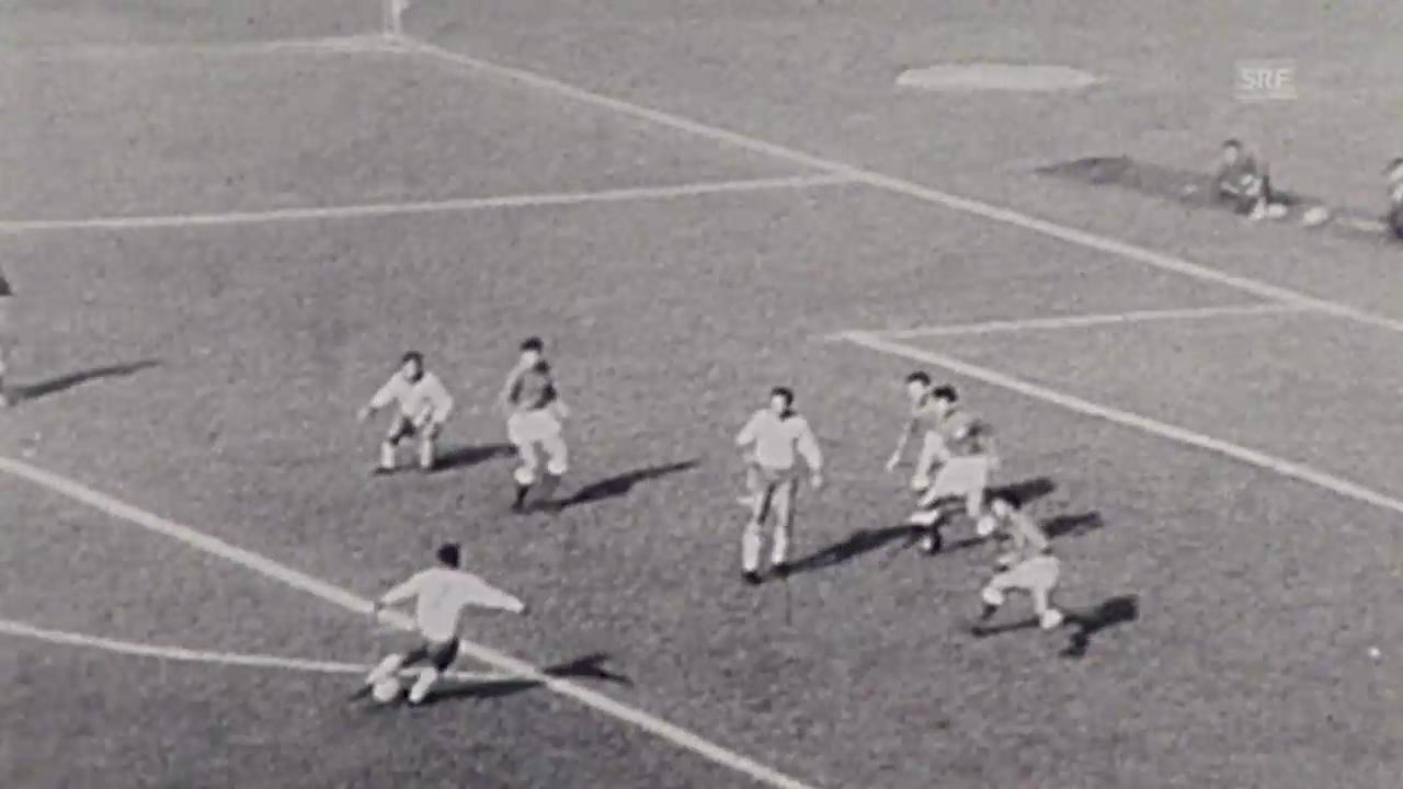 Fussball: WM-Halbfinal 1962 Brasilien - Chile
