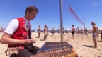 Video «Sennsationell: Hackbrett am Strand» abspielen