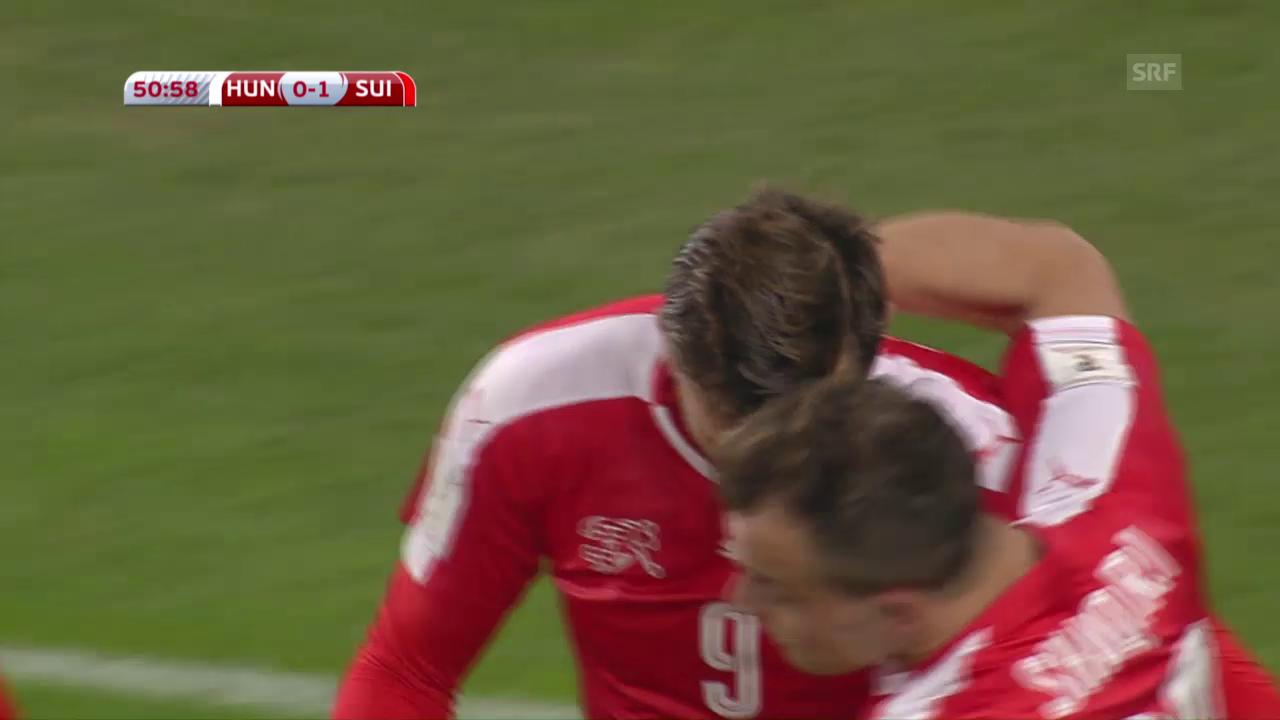 Seferovic bringt die Nati in Führung