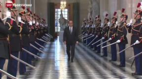 """Video «""""Ausnahmezustand"""" in Frankreichs Verfassung» abspielen"""