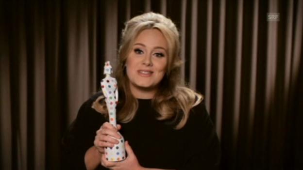 Video «Adele und One Direction an den Brit Awards 2013» abspielen