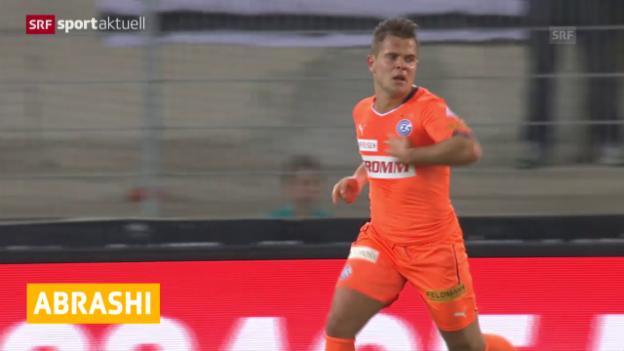 Video «Fussball: Amir Abrashi nach Freiburg» abspielen