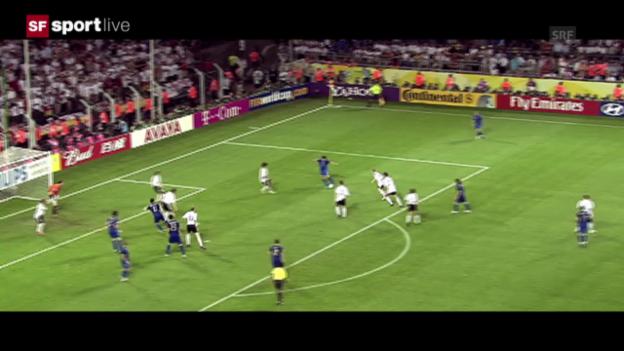 Video «WM-Halbfinal 2006 Deutschland - Italien» abspielen