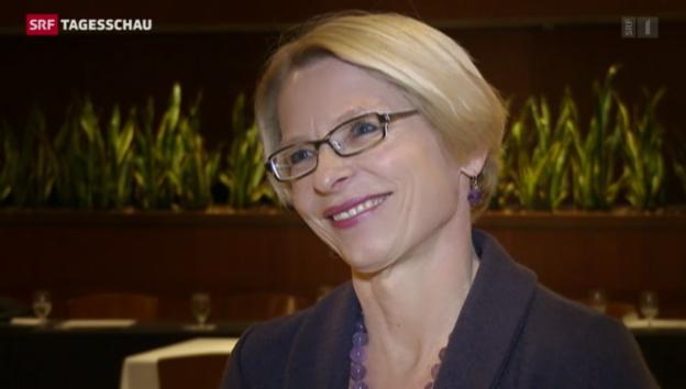 Video «Preis für Schweizer Botschafterin» abspielen
