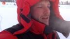 Video «Abenteuer – Wie ein Schweizer in Sibirien bei minus 45 Grad an seine Grenzen stösst» abspielen