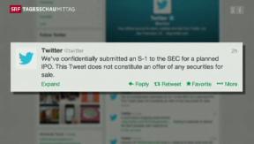 Video «Twitter geht an die Börse» abspielen
