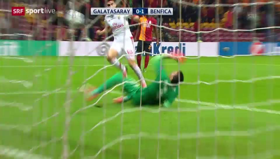 Gaitans feines Füsschen gegen Galatasaray