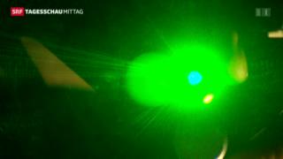 Video «Immer mehr gefährliche Laser-Attacken » abspielen