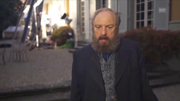 Video «Peter Siegenthaler über seine Rolle als Alfred Escher» abspielen